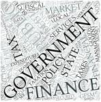 Public finance Disciplines Concept