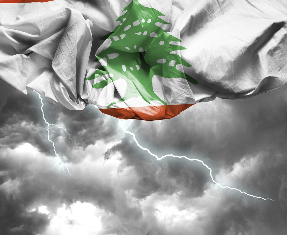 Lebanon basks in the calm eye of the financial storm