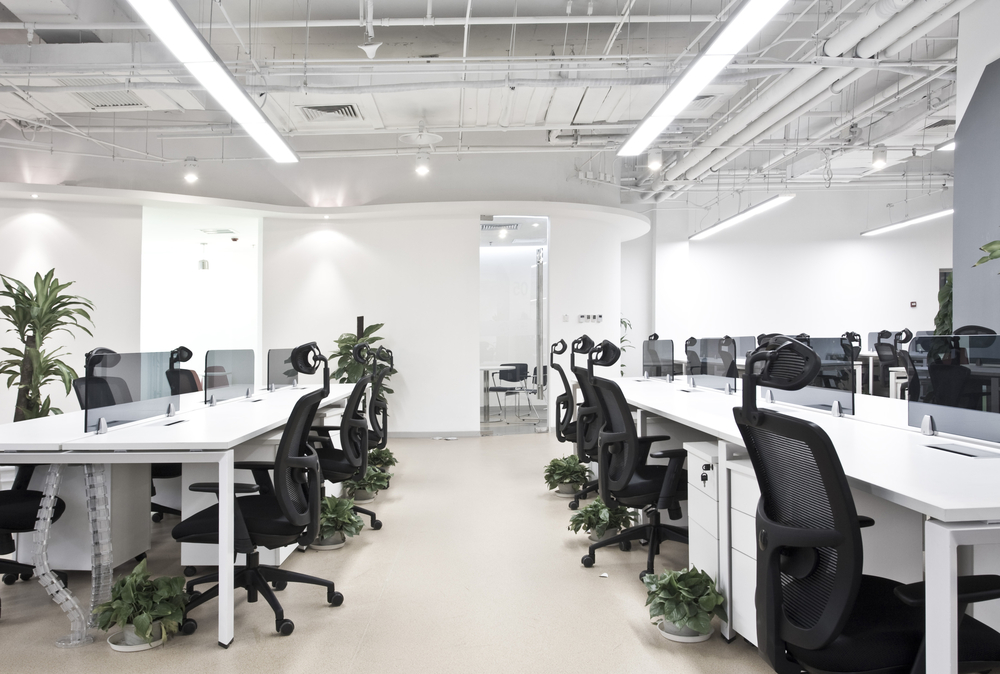 Open office interior design the image for Office design hamra