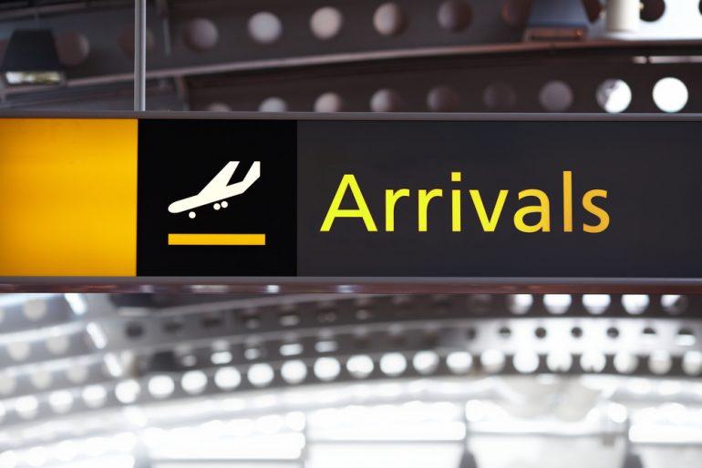 airport arrivals 12