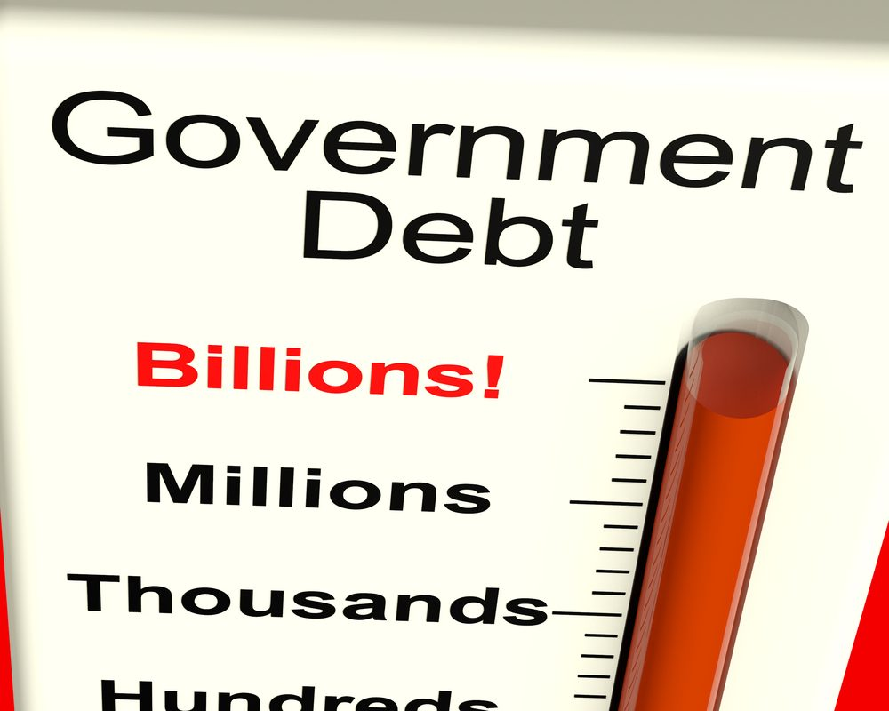 Gross Public Debt Stands at $76.13B in February 2017