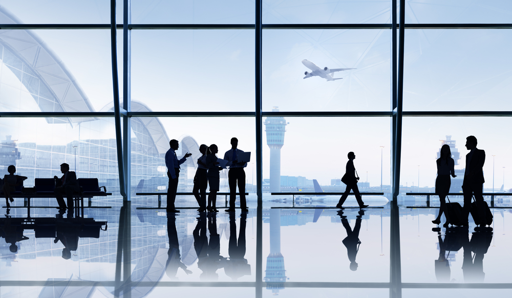 The Number of Airport Passengers Reached a Record High of 5.54M by Aug. 2017