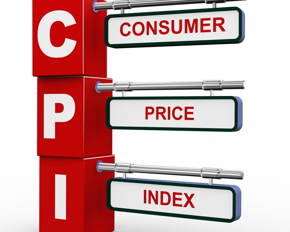 Average Inflation Up by a yearly 4.44% in 2017