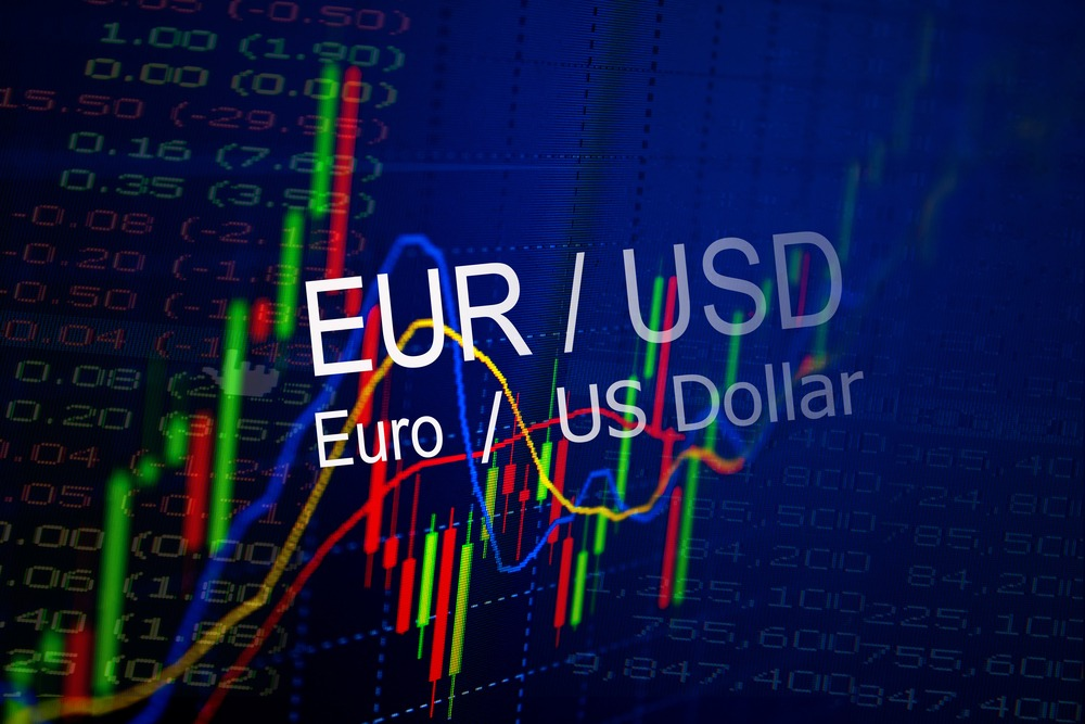 US Dollar Depreciation Against The Euro Amid This Week's Stalled US Recovery